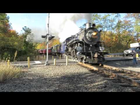 Reading and Northern steam train 425 Port Clinton, Pennsylvania