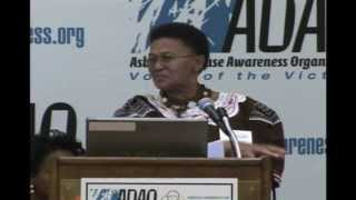 2009 ADAO AAC: Sarah Mereeothle, Rn., Asbestos Disease and Death in the Kgalagadi