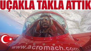 Gösteri Uçağıyla Takla Attık | Türkiye'nin İlk Kadın Akrobasi Pilotuyla