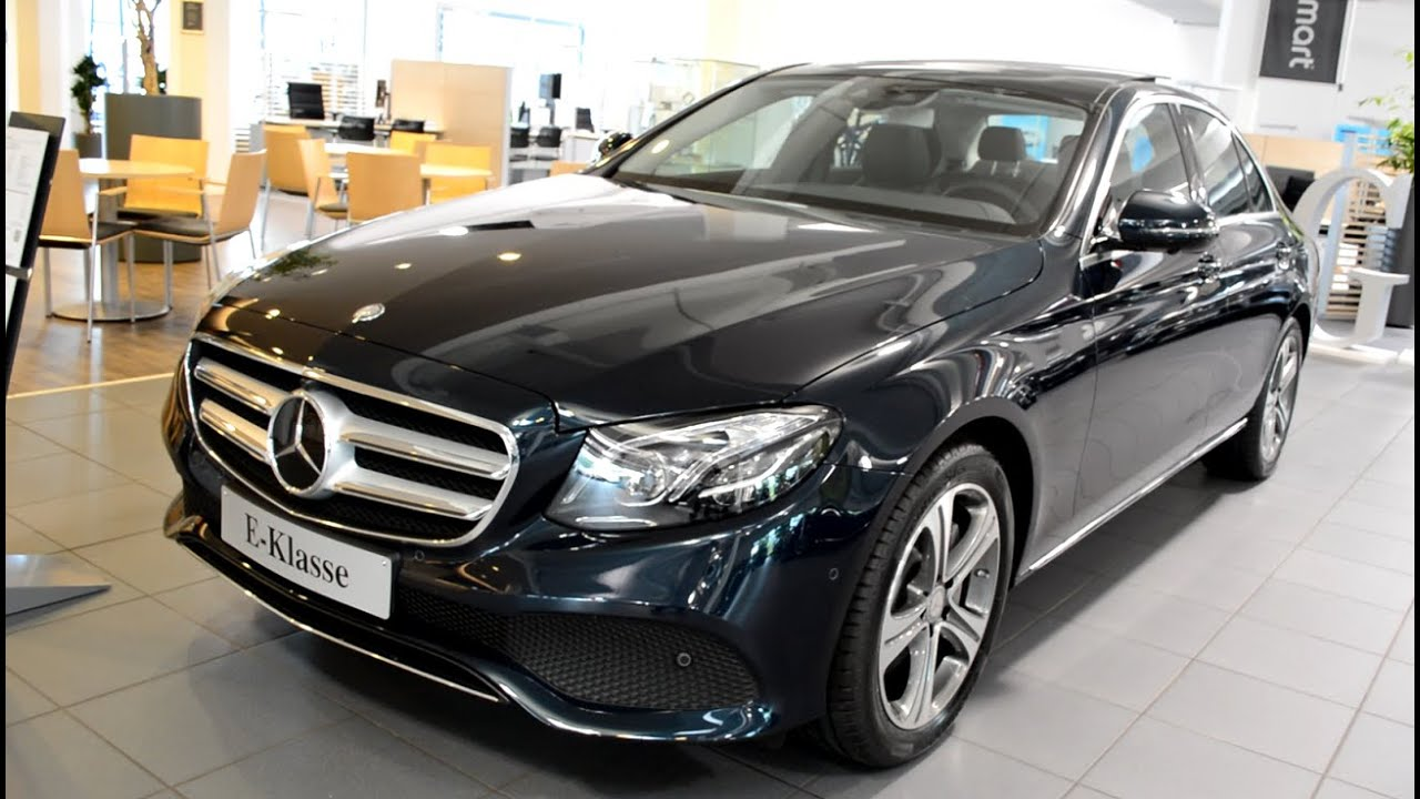 2016 Mercedes E220 D Avantgarde Youtube
