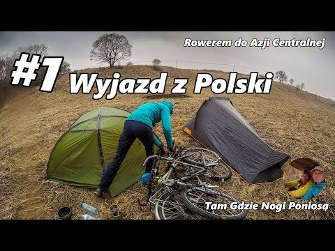 To Central Asia by Bicycle - #1 Departure from Poland (English subtitles)
