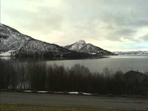 The May weather in Troms (Norway)