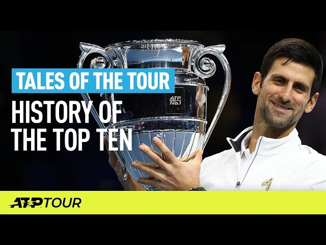 History Of The ATP Rankings Top Ten | TALES OF THE TOUR | ATP