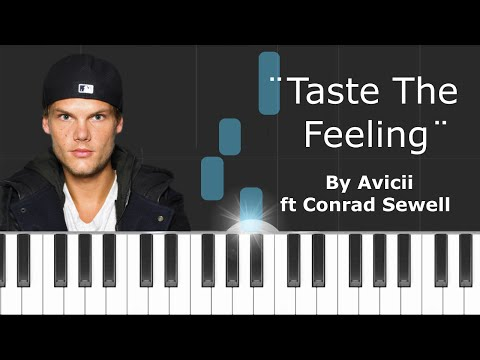 "Avicii - ""Taste The Feeling"" ft Conrad Sewell Piano Tutorial - Chords - How To Play - Cover"