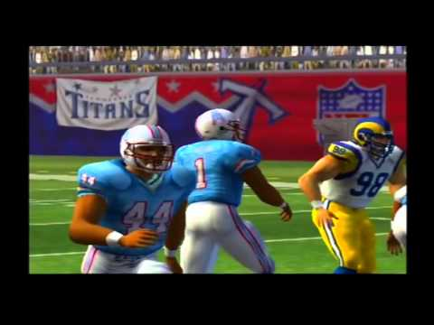 1999 St. Louis Rams 1992 Houston Oilers Madden NFL 07