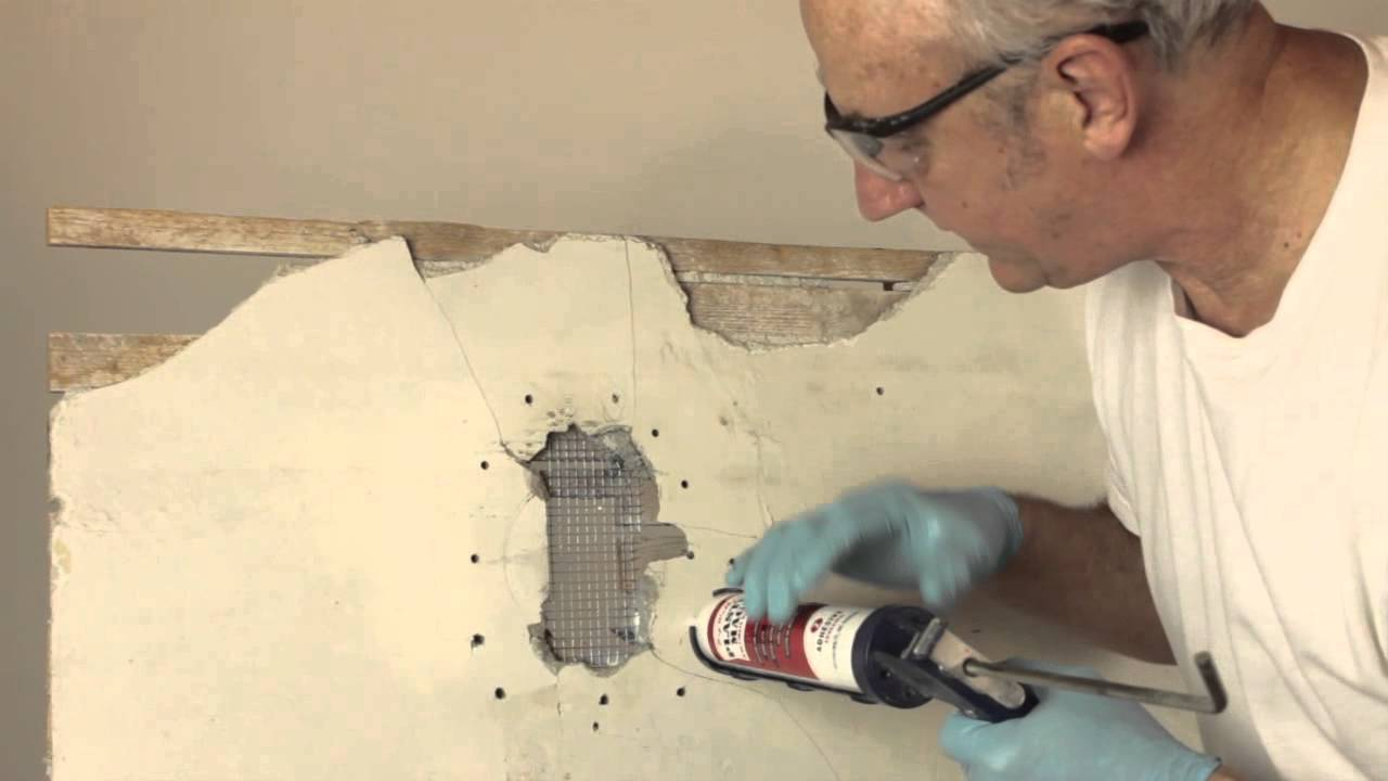 Diy Plaster Patching How To Patch Plaster After Removing