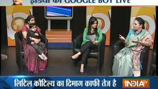3-year-old Google boy's live test on India TV, Part 3