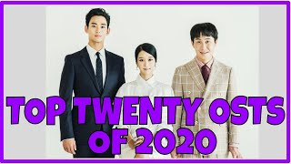 TOP TWENTY KDRAMA OSTs of 2020