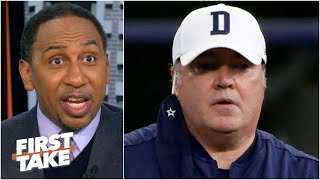 'The Dallas Cowboys are a mess' & Mike McCarthy shouldn't last the season! - Stephen A. | First Take