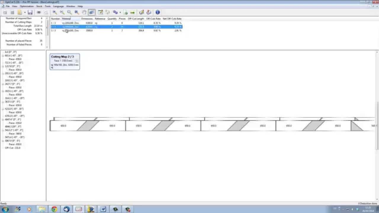 Bar Cutting Optimisation | How To Save Big With A Profile Cut Optimiser |  Wood designer Ltd