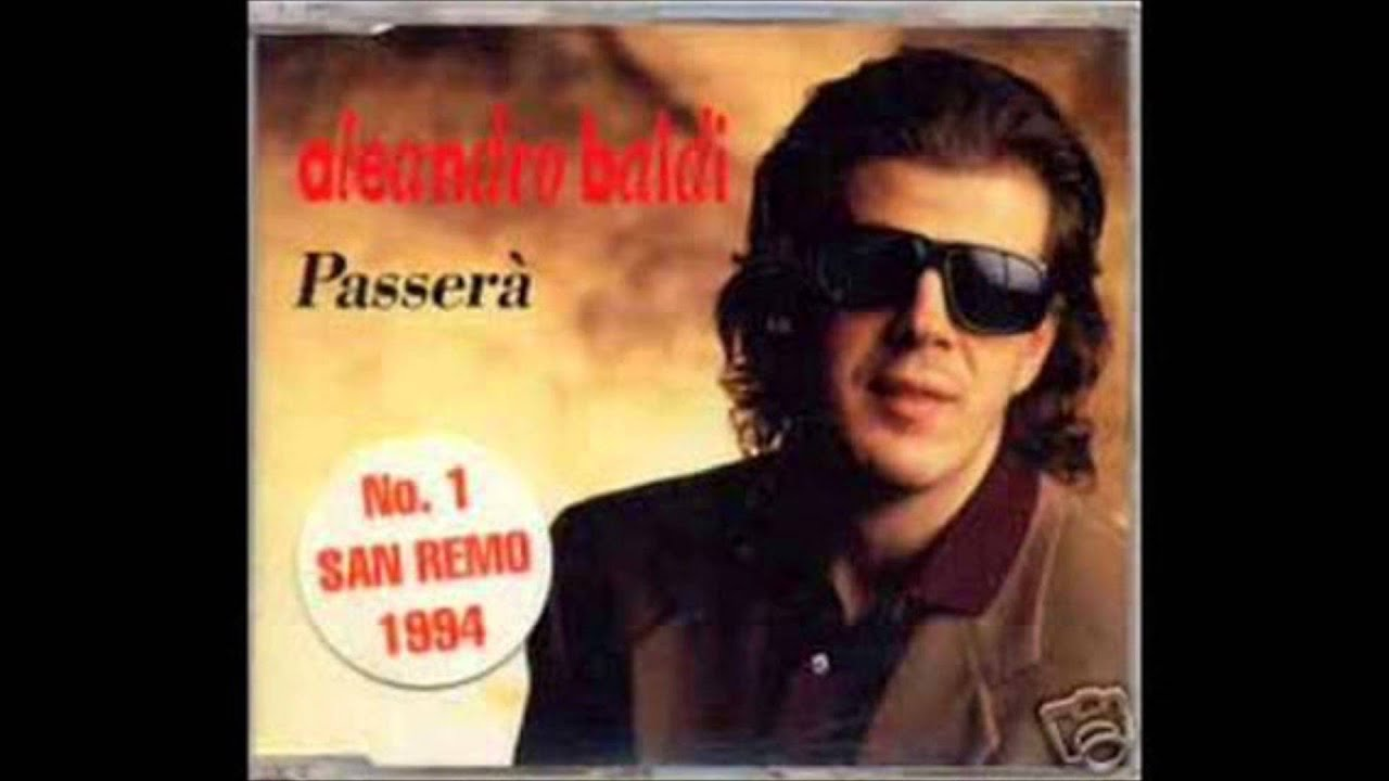Aleandro Baldi - Passerà - YouTube
