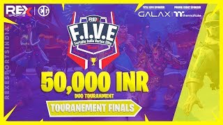 Rex| FIVE Fortnite India Vortex Elite Finale| Giveaway| Support Code Vineeth1921