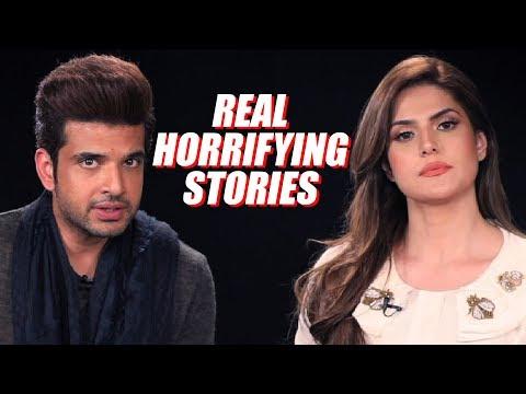 Zareen Khan and Karan Kundra Tell You Their Most Horrifying Incidents