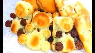 Пирожное Барни с начинкой. Барни печенье. Кексы на кефире рецепт.