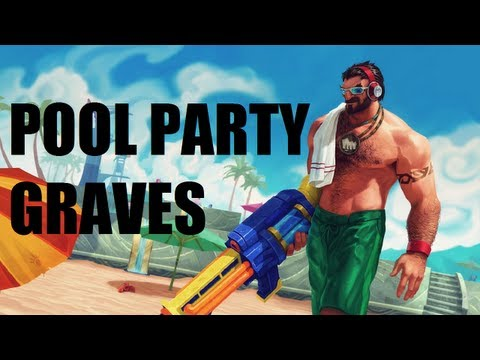 League of Legends - Pool Party Graves - Full Game Commentary