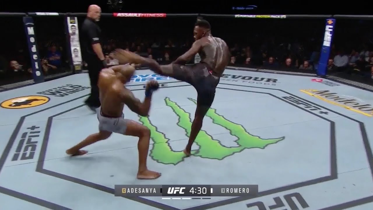 UFC 248 Adesanya vs Romero: Хайлайты / UFC 248 - Highlights