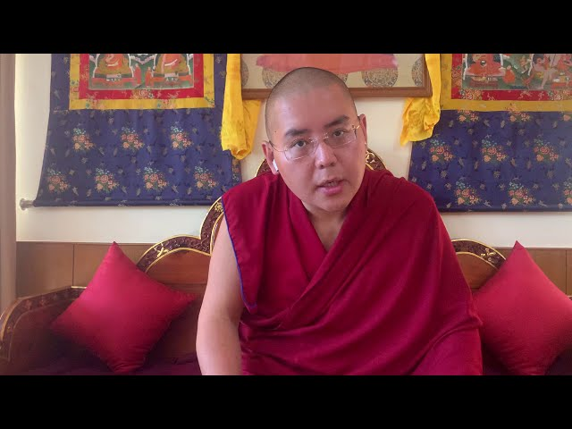 His Eminence Ling Rinpoche on nonviolence and wishes for Happy Tibetan New Year (Iron Ox Year).
