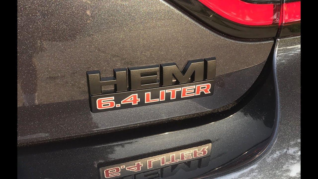 NEW 2015-2018 Dodge Charger Challenger  HEMI Front Fender Emblem OEM