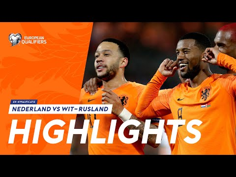 Highlights: Nederland - Wit-Rusland (21/03/2019) EK-kwalificatie 2020