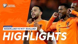 Highlights: Nederland   Wit Rusland (21/03/2019) Ek Kwalificatie 2020