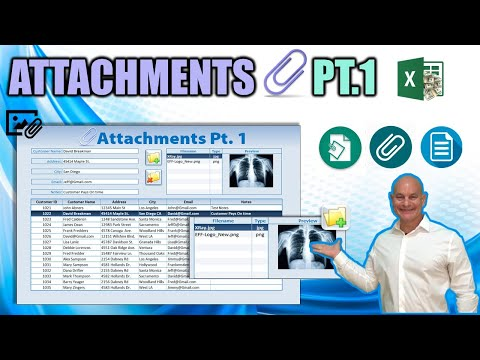 How To Create Unlimited File Attachments With A Thumbnail Preview In Excel [Part 1]