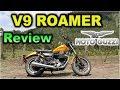 Prueba V9 Roamer Moto Guzzi |review En Español Con Blitz Rider