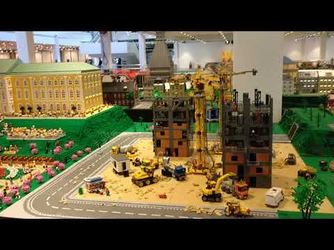 Impression city layout LEGO World Copenhagen 2018