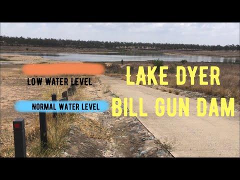 The Drought, Our Local Lake LAKE DYER (Bill Gun Dam)