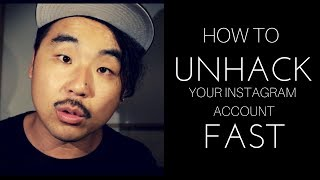 HACKED ACCOUNT: How To Un-Hack Your Instagram Account Fast