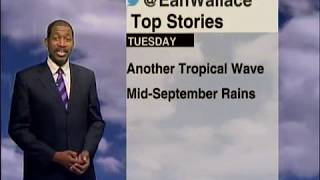 Weather Outlook - Tuesday September 18th 2018