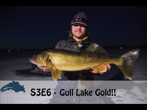 S3E6 - Ice Fishing For Gull Lake Gold! (Brainerd MN Area)
