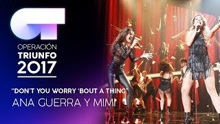 """Don't You Worry Bout A Thing"" - Mimi y Ana Guerra 