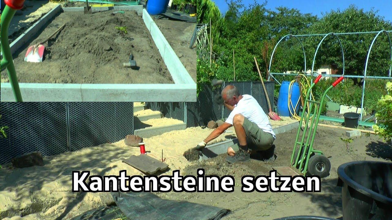 Fußboden Ohne Beton ~ Randsteine setzen ohne beton smartstore