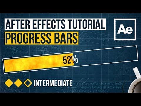 After Effects Tutorial - Progress Bars