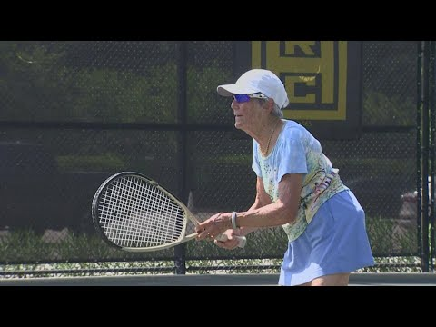 At 89, 'super senior' tennis player is no match for status quo
