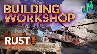 RUST 🛢 Building Workshop 🎮 Getting Pumped for Console Release - Stream 37