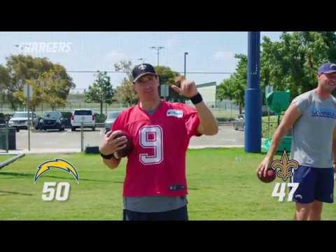 The Epic Finale of the QB Challenge: Chargers vs. Saints