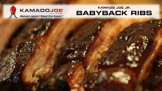 Kamado Joe Jr. Babyback Ribs!