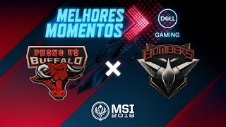 MSI 2019: Fase de Entrada - Dia 1 | Melhores Momentos PVB x BMR (By Dell Gaming)