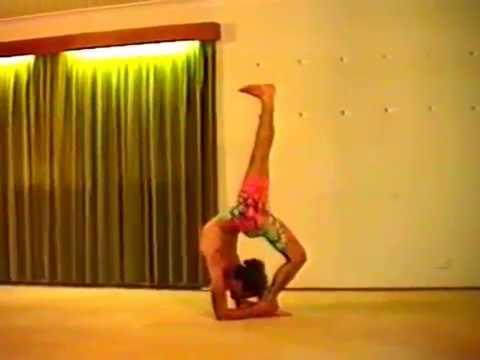 Simon Borg Olivier Advanced Yoga Asana Demonstration 1980's Part B