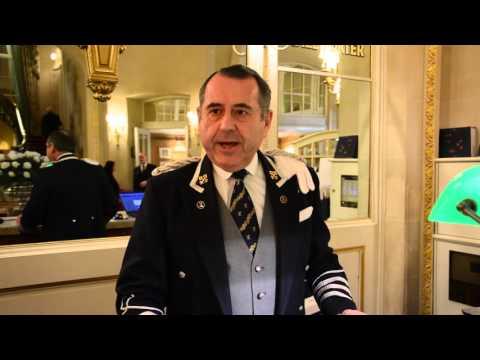 The Ritz London Chief Concierge, Michael De Cozar
