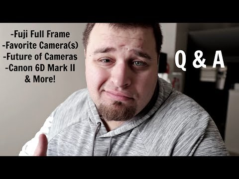 Fuji Going Full Frame, What's Next For Nikon/Canon/Sony, Canon 6D Mark II & More: Q & A