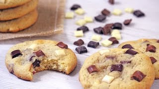 Triple Chocolate Cream Cheese Soft Cookies | How Tasty Channel