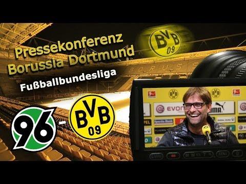 BVB Pressekonferenz : Hannover 96 - Borussia Dortmund : Bundesliga PK Jürgen Klopp