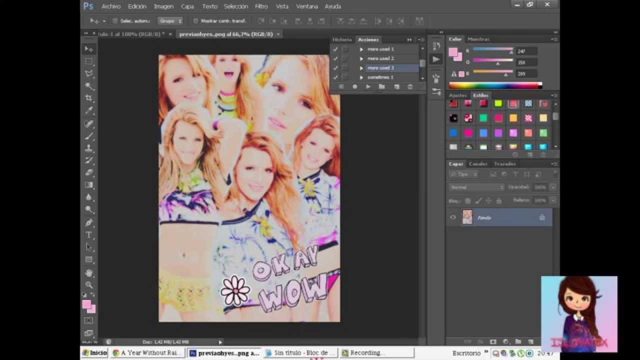 Cómo Hacer Un Collage Tipo Tumblr En Photoshop