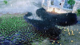 Lord Of The Rings - Helms Deep Battle Simulation!!! | Ultimate Epic Battle Simulator HD
