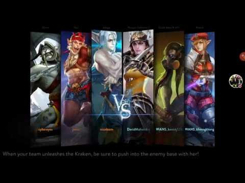 Vainglory - Catherine is the best tanker   utility   ranked (SEA)