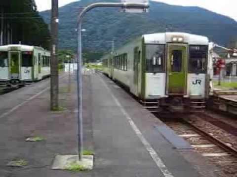 北上線普通列車・和賀仙人駅 列...