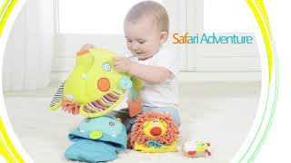 Dolce Safari Adventure, the perfect developmental discovery baby toy