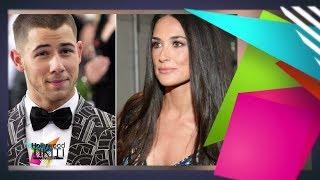 Circulan rumores de romance entre Demi Moore y Nick Jonas - Hollywood Tikiti